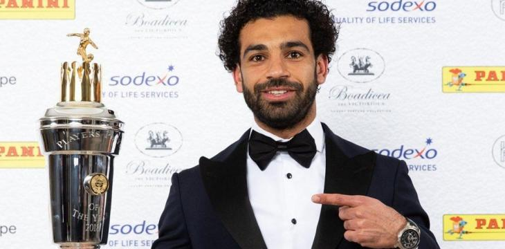 Mohamed Salah Voted Premier League's Player of the Year