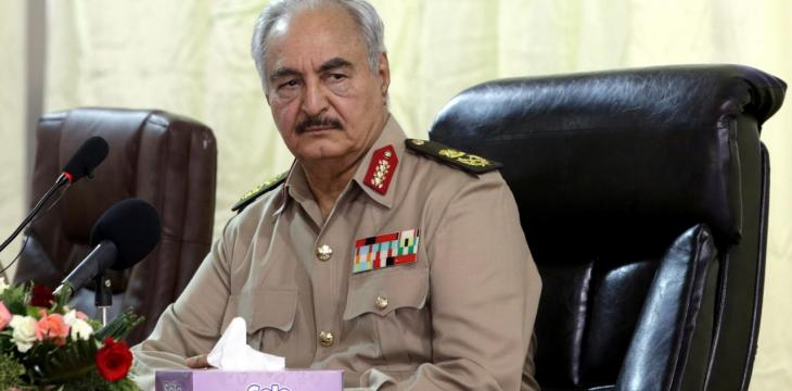 Libya's Haftar Returns Home after Treatment in France