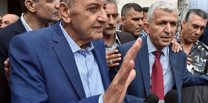Berri to Asharq Al-Awsat: Seeking a Broad Lebanese National Bloc