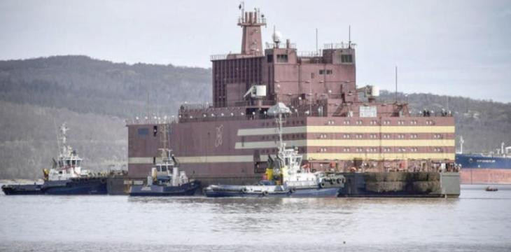 Russia Launches World's First Floating Nuclear Station