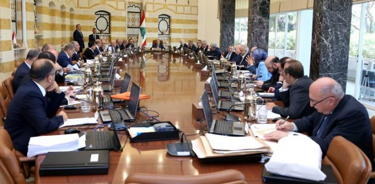 Lebanon: Last Cabinet Session Approves Dozens of Pending Articles