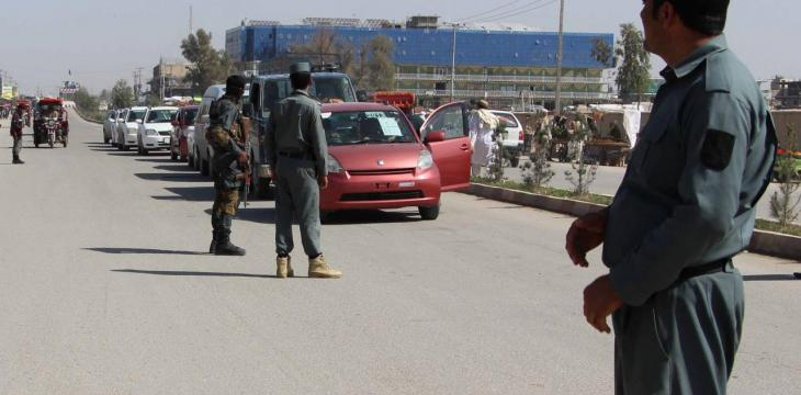 Taliban Attack Afghan Policemen as Minibus Bomb Causes Heavy Casualties