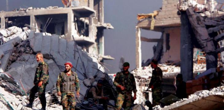 Syrian Regime Forces in Full Control of Damascus, its Suburbs