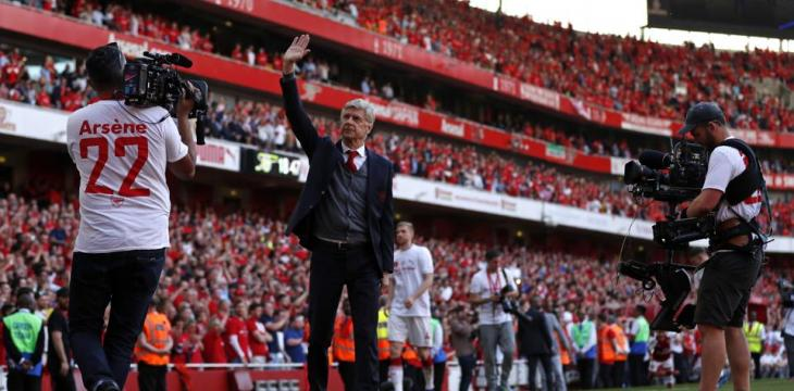 Arsène Wenger Bows out with a Light Heart at End of 22-Year Arsenal Affair