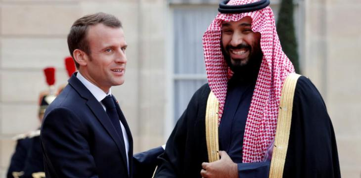 Saudi Crown Prince Discusses Latest Developments with French President