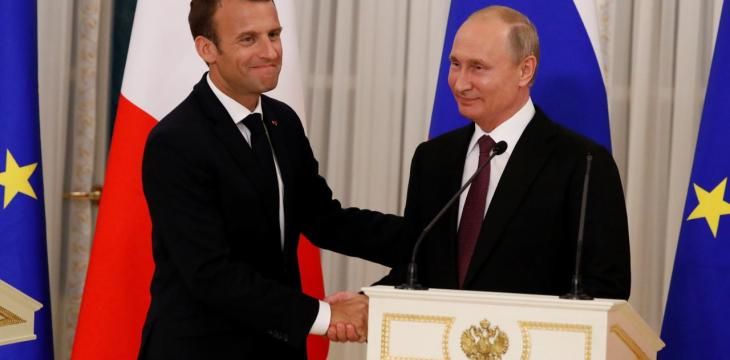 Iran Deal, Syria Top Macron-Putin 'Ice-Breaker' Summit