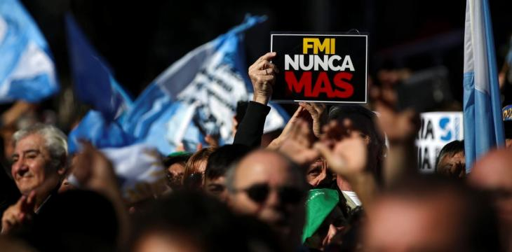 Argentines Resist Decision to Seek IMF Help