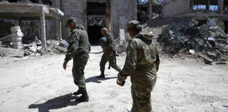 Four Russian Military Personnel Killed in Syria's Deir Ezzor