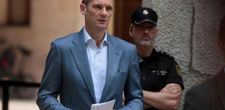 Spanish King's Brother-in-Law Starts Jail Term