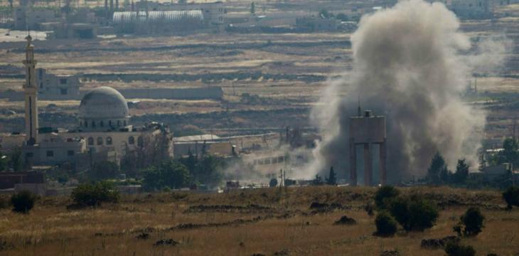 In First Time in 3 Years, Shells Strike Syria's Sweida