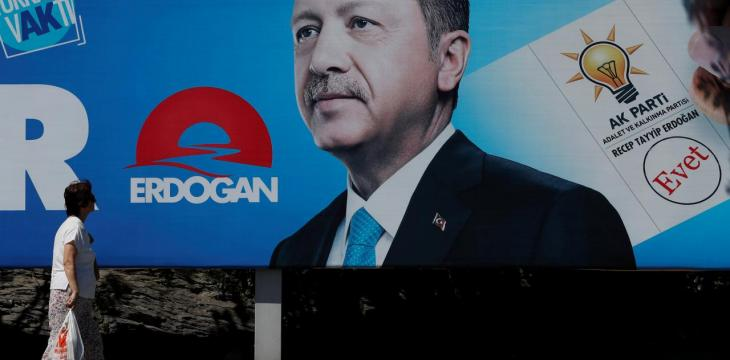 Erdogan Doesn't Rule Out Coalition If No Majority as he Seeks New Term