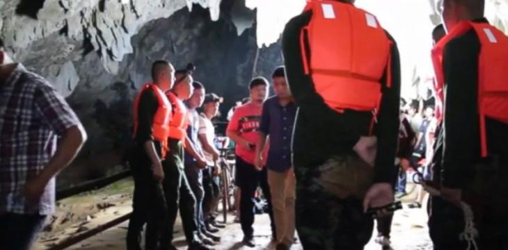 Rescuers Try to Save Thai Football Team Trapped in Cave Complex