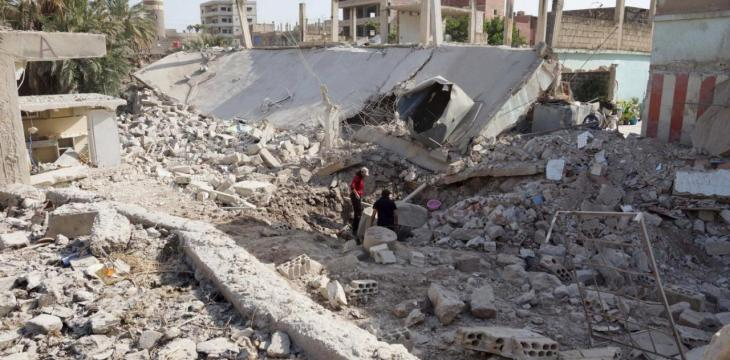 Syria Regime Pummels South, Forcing Residents to Flee