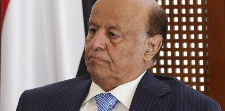 Hadi Vows Nearing Comprehensive Military Operations, Says Houthi Reserves Depleted