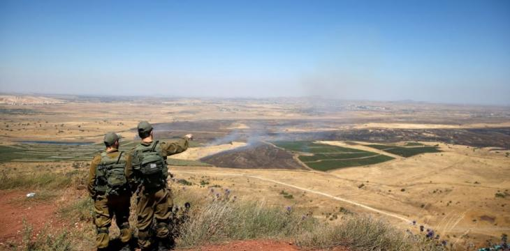 Refugees Briefly Approach Golan Heights as Regime Pounds Syria's Quneitra