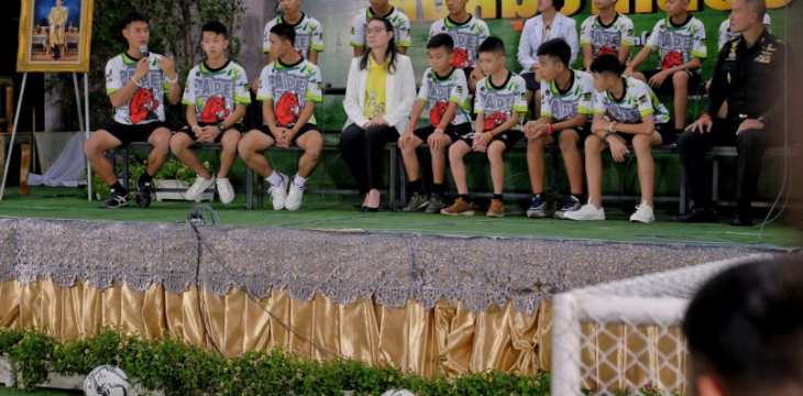 Thai Cave Boys Recall Hard Journey in First Public Appearance