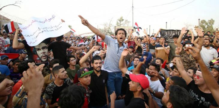 One Killed as Iraqi Protests Rage on
