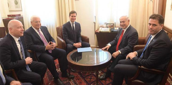 Hamas Considers Kushner, Greenblatt and Friedman Israeli Spokesmen