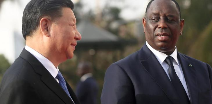 China's President Arrives for Africa Visit as US Interest Wanes