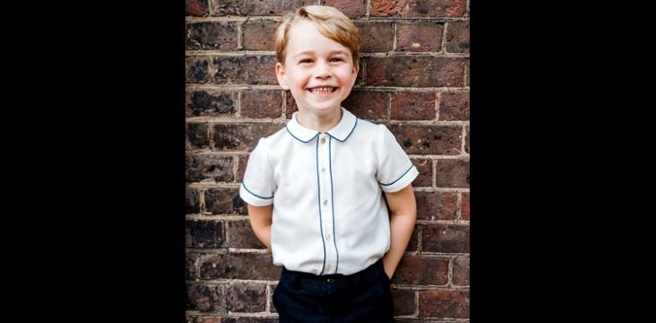 Britain's Prince George Marks Fifth Birthday With Photo