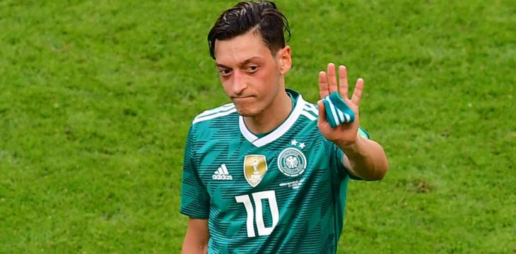 Ozil Quits German National Team over 'Racism, Disrespect'