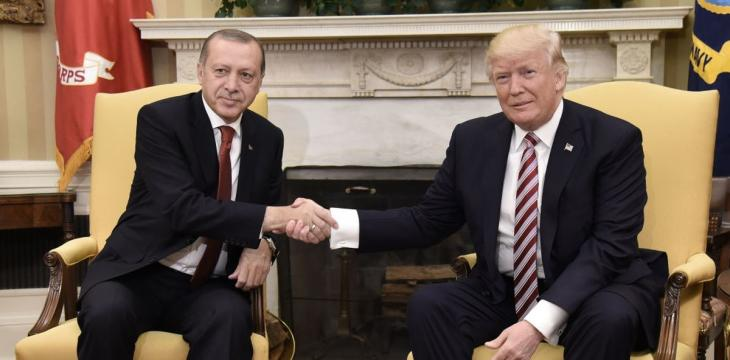 Erdogan Accuses US of 'Stabbing Turkey in the Back'