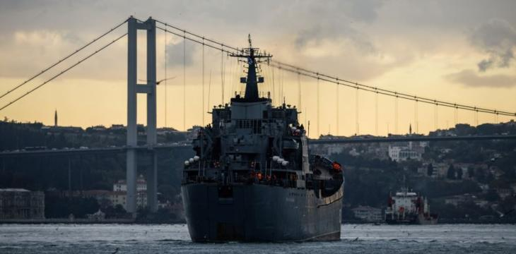 Russia Sends Missile Ship to Mediterranean Coast off Syria