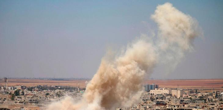 18 ISIS Terrorists Killed in Air Strikes on Syria