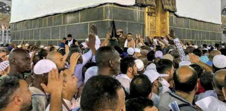 Over 2 Mn Pilgrims Perform Friday Prayers in Two Holy Mosques