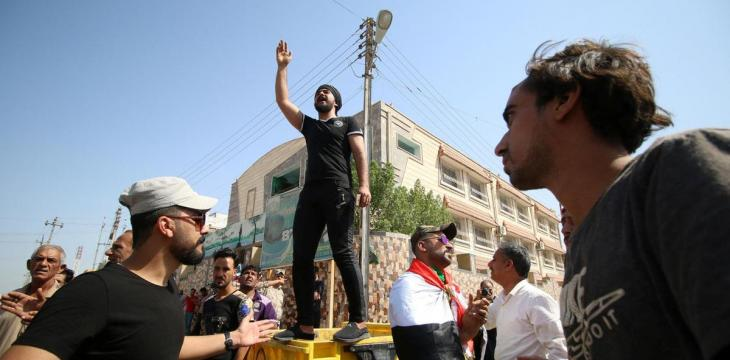 Suspicious of Iraqi Govt. Pledges, Basra Residents Plan Civil Disobedience after Eid Holiday