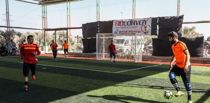 In Opposition-Held Idlib, Displaced Syrians Bond through Football