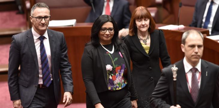 Australia Swears in First Female Muslim Senator