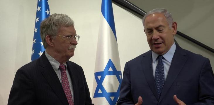 Bolton Discusses Iran, Syria with Netanyahu in Israel
