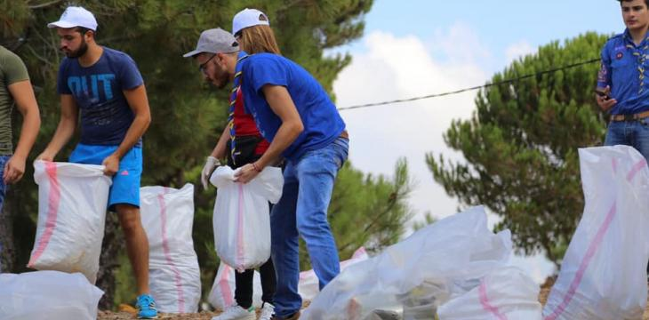 On World Cleanup Day, 3500 Volunteers United for a Waste-Free Lebanon