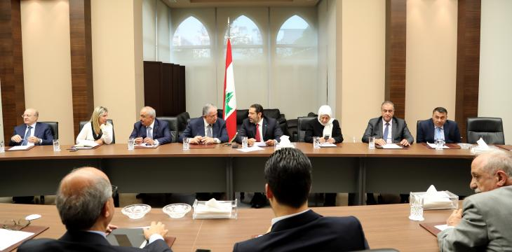 Hariri: Communication on Lebanon's Cabinet Formation Hasn't Stopped