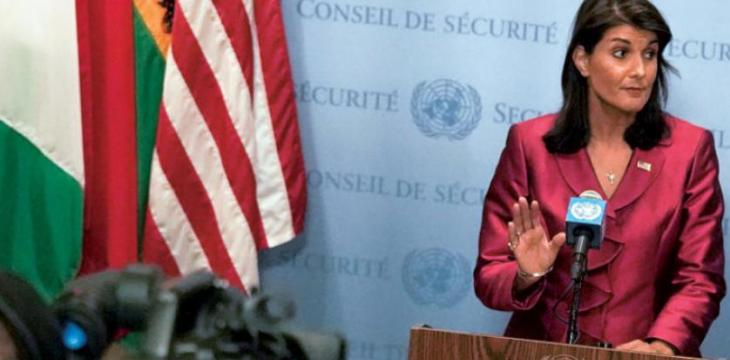 Haley Accuses Iran of 'Trampling' on Sovereignty of its Neighbors