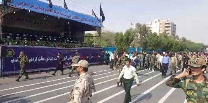 IRGC Members Among Dozens of Casualties in Iran Military Parade Attack