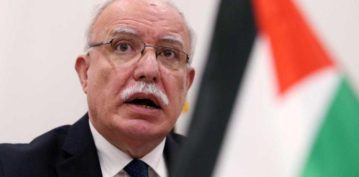 Riyad Al-Maliki to Asharq Al-Awsat: Efforts Are Underway to Save 2-State Solution