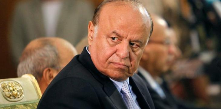 Hadi Accuses Iran of Supporting Parties South Yemen