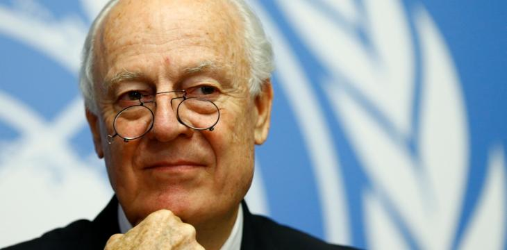 UN Syria Envoy to Step Down in November