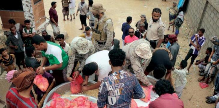 Saudi Envoy Says Civil Defense on Rescue Mission in Cyclone-ravaged Al Mahara