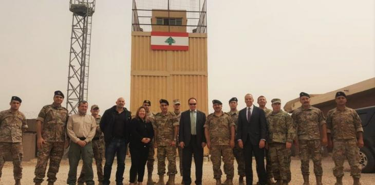 US Committed to Supporting Lebanese Army