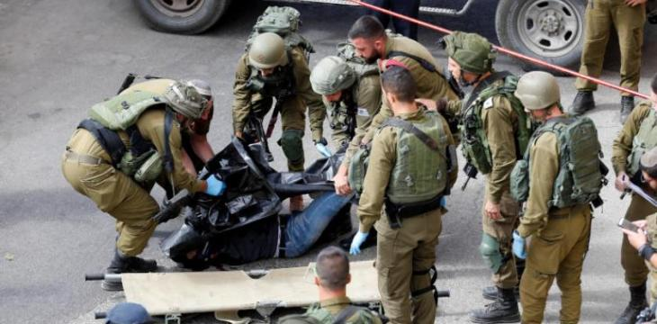 Palestinian Shot Dead after Stabbing Israeli Soldier