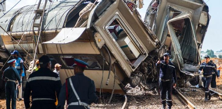 Driver of Derailed Morocco Train Charged with Involuntary Homicide