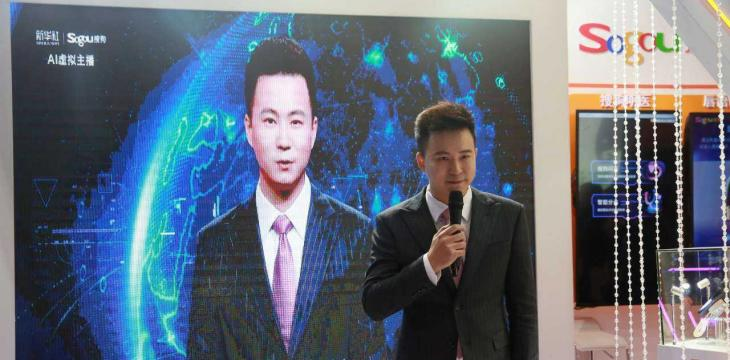 China Launches First Robot News Anchor