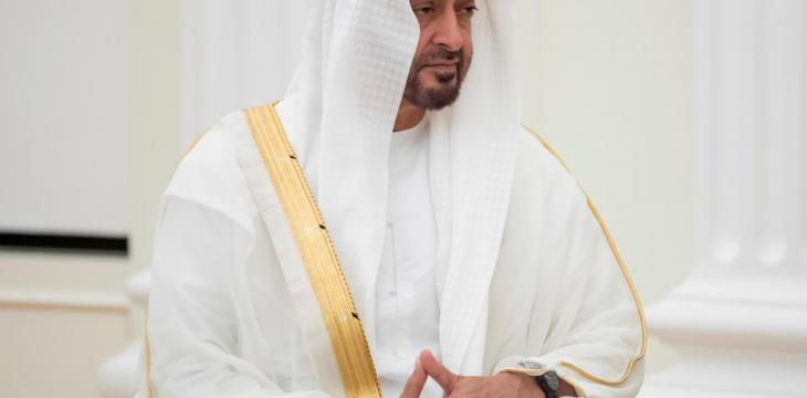Abu Dhabi Crown Prince Receives US National Security Advisor