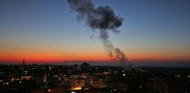 3 Palestinians Killed as Israel Strikes Gaza