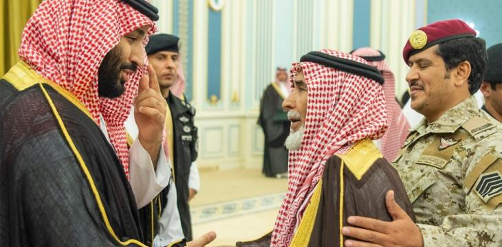 Crown Prince Meets Families of Saudi Martyrs