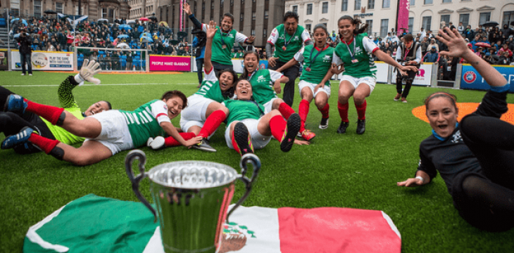 World Cup in Mexico Offers Sporting Chance for Homeless Footballers