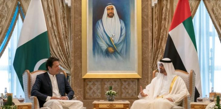Pakistan PM, Abu Dhabi Crown Prince Discuss Bilateral Ties